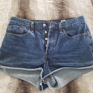 Womens Levi Jean Shorts